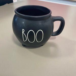 rae dunn boo cauldron mug